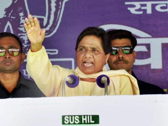 The bulk of the deserters are from Mayawati's Bahujan Samaj Party.