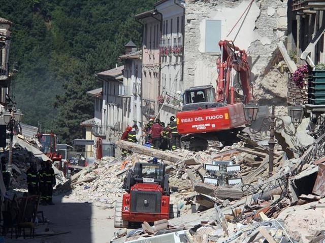 Italy quake toll