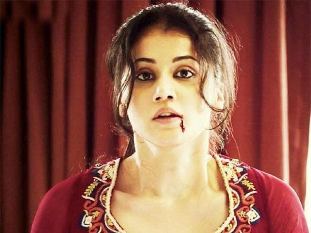 Top Bold Bollywood Actress in 2018 - taapsee pannu action