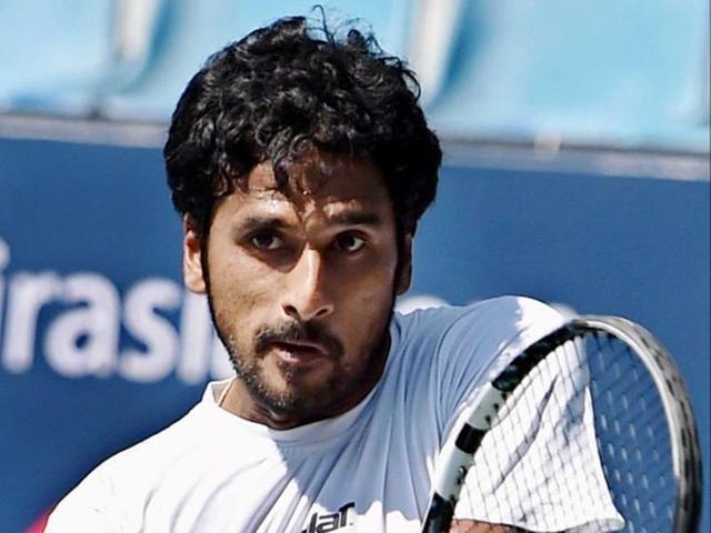 Afile photo of Indian tennis player Saketh Myneni.