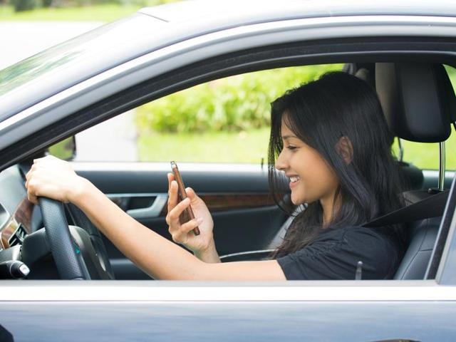 Of the more than 500,000 road accidents that occurred in India last year, 71% were caused because of the driver's error. And the biggest cause of driver's distraction is mobile phone use.