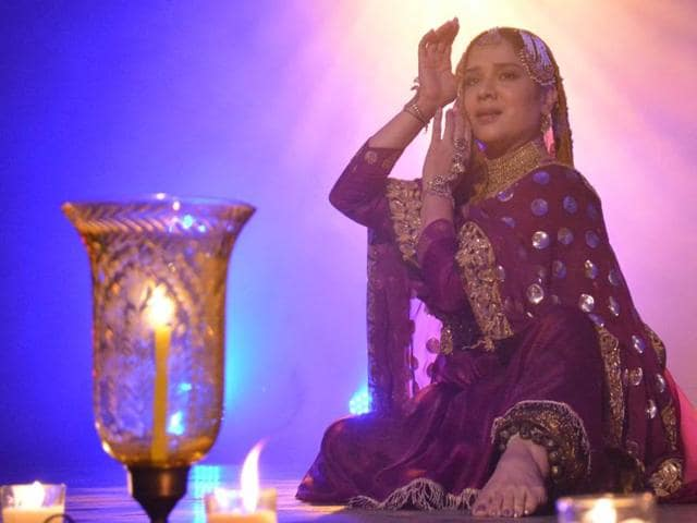 Darbari Kathak exponent Manjari Chaturvedi in an earlier performance of the show, The Courtesan - An Enigma. The dancer hopes to pique the interests of younger audiences in the legend of the courtesan.