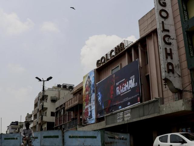 The number of visitors to Delhi's single screen cinemas such as Golcha in Daryaganj has been dwindling steadily since the arrival of multiplexes.