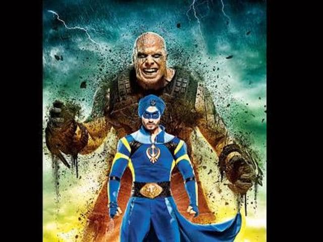 The first half of A Flying Jatt has moments of fun — I loved that despite being a superhero he has a fear of heights, so he flies very close to the ground. But post-interval, laughter takes a back seat.