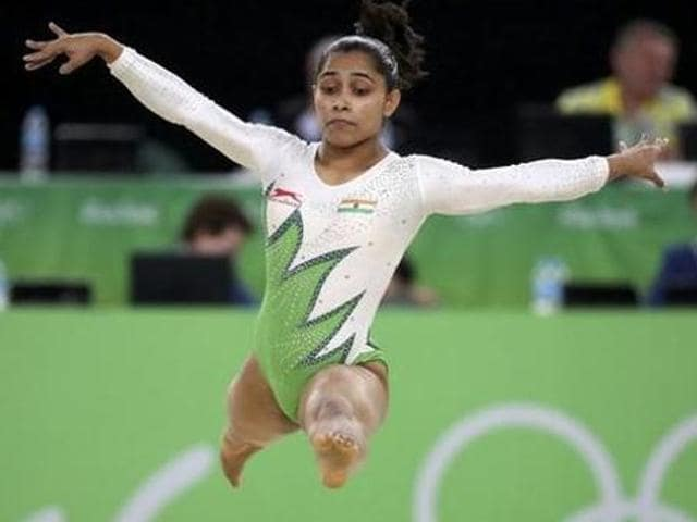 Dipa Karmakar at the recently concluded Rio Olympics