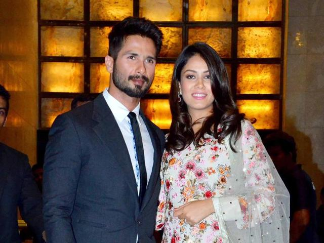 Shahid Kapoor's mother Neelima Azim says the actor is  thrilled to be a dad and he has been taking excellent care of his little daughter and wife.