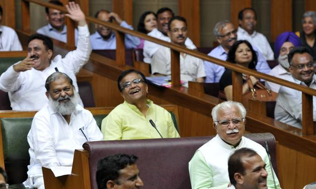 In address to Haryana assembly, Jain monk talks about
