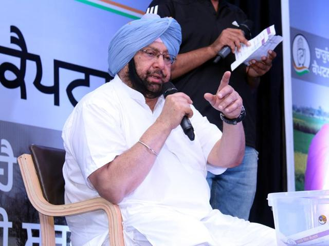 A former chief minister and now president of the Punjab Congress, 74-year-old Amarinder Singh is referred to as 'Captain' because of his ex-army man status.