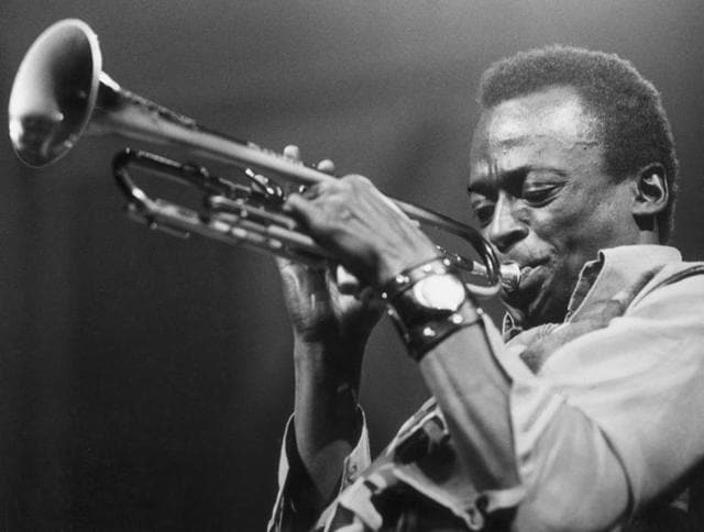 Musician Miles Davis's Kind of Blue is one of the greatest jazz albums of all time.