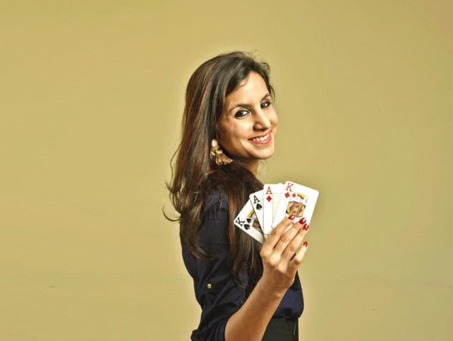 Professional poker player Simrit Tiwania