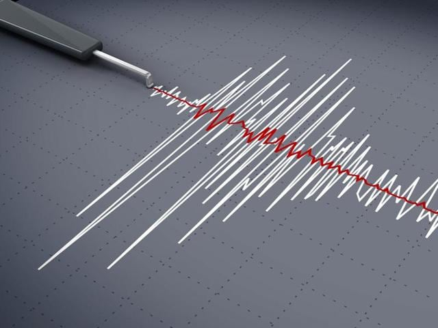 A slight intensity earthquake hit Manipur at 8:34 PM on Saturday.