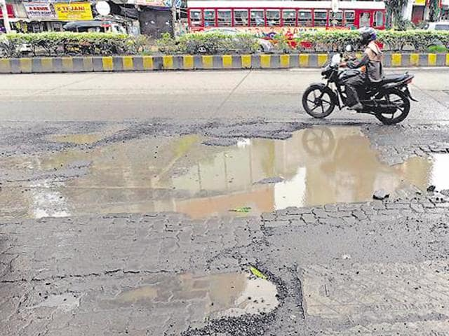 The material used for the construction of roads was found to be substandard after the investigation team formed by the civic body had investigated 34 roads across the city.