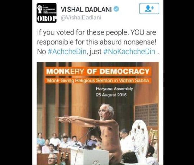 Under fire over Jain monk tweet, Dadlani says he will quit