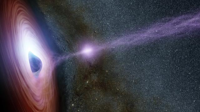 Black Holes are dead bodies of stars, which have so much gravity that it gulps down everything around it in space, including light.