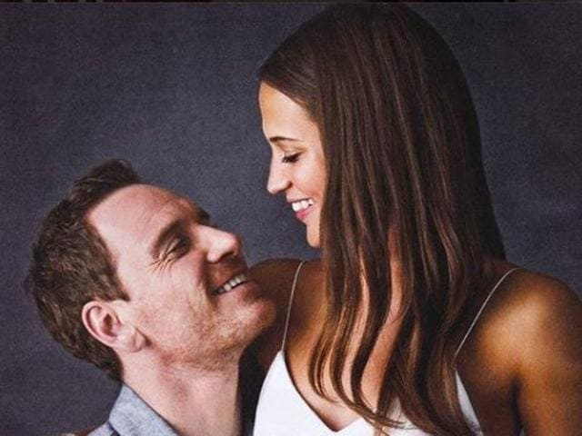 Alicia and Michael, who are playing husband and wife in the period drama, opened up about their film in an interview.
