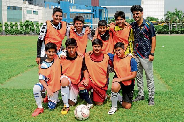 Noida,HT GIFA,football tournament
