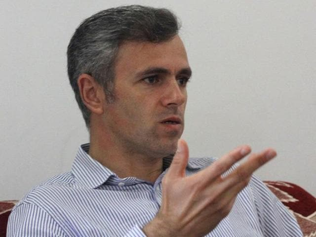 Omar Abdullah had earlier criticised PM narendra Modi for not making mention of the Kashmir situation in his radio addresses.