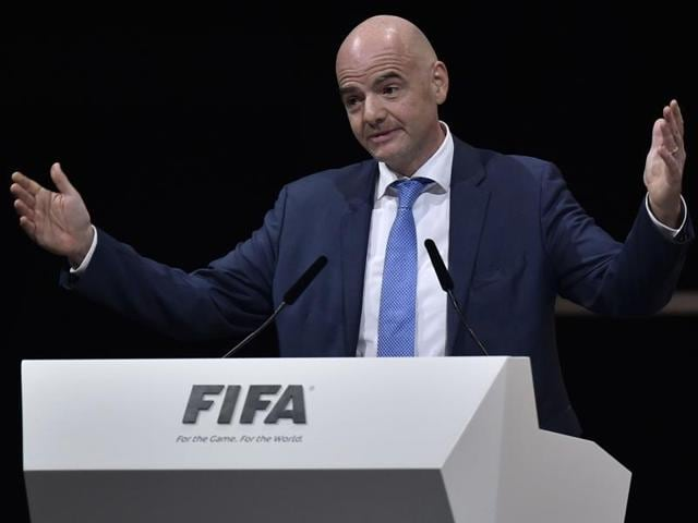 """Infantino has not yet agreed to terms with Fifa but speaking to Switzerland's Blick newspaper, he said his salary """"will be less than the two million francs people have speculated about."""""""
