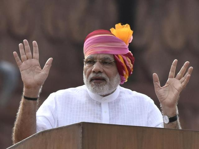 """Prime Minister Narendra Modi had attacked Pakistan over alleged human rights abuses in Balochistan, Gilgit and """"occupied"""" Kashmir, during his Independence Day speech from the Red Fort."""