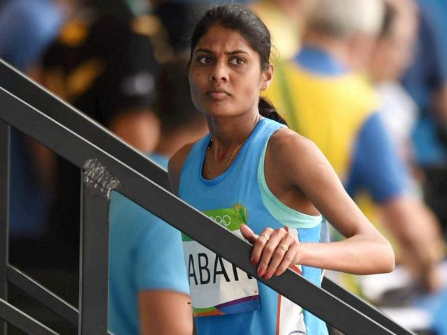 As India fights to match formidable rivals in track and field, doughty women distance runners like Lalita Babar (in blue) have emerged as a major force in Indian sport.