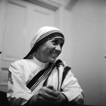 Mother Teresa (1910 - 1997) dedicated her life to the poor, the destitute and the sick. She will be Canonized by the Vatican on September 4.