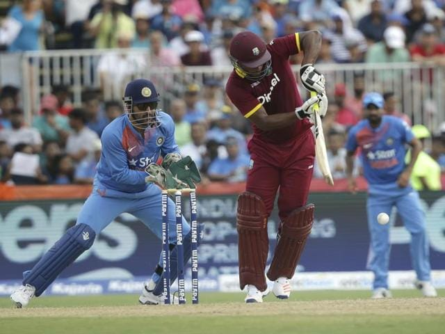 MS Dhoni's men lost the first T20 by one run.