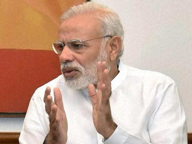 Prime Minister Narendra Modi said in 'Mann Ki Baat' on Sunday that one of his schoolteachers 'gives opinion on what I have done during the month -- whether it was right or wrong.'