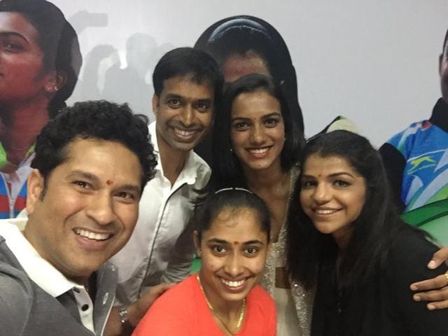 PV Sindhu,Sakshi Malik,P Gopichand
