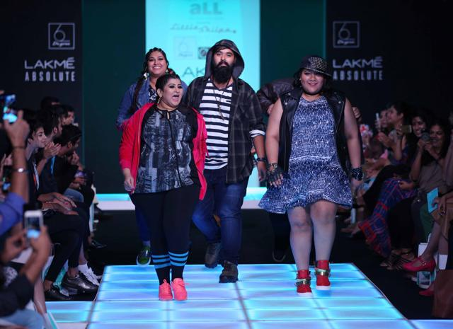 32945870578 End of the skinny model?: Inside Lakme Fashion Week's first plus ...