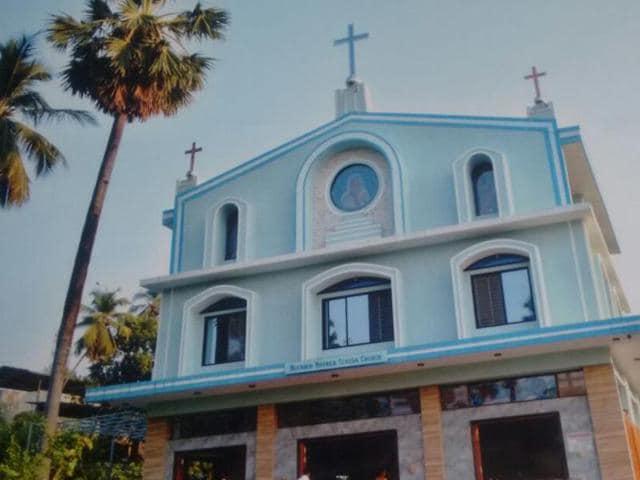 The church in Virar.