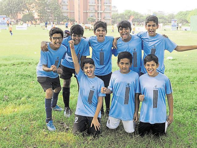 The team gathers every evening, trains and plans their game to put up a good show. All nine members of the team are very excited as they are going to participate in the tournament for the first time.