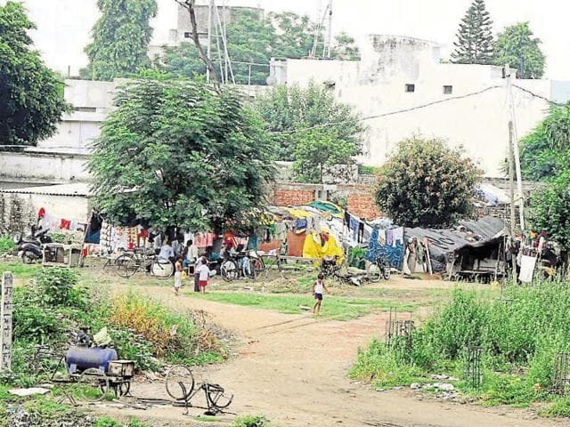 Site reserved for shooting range at Sunet in Bhai Randhir Singh Nagar awaits creation of infrastructure.