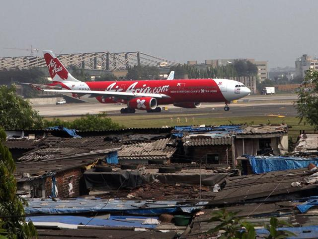 The Mumbai airport is not able to keep up with the surging passenger traffic