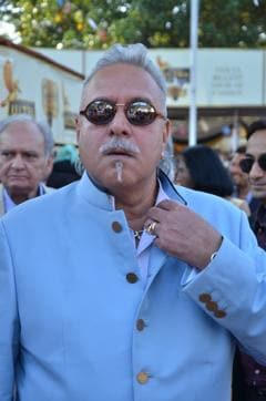 Vijay Mallya on his way to attend a Parliament session. His lawyer said that since there is no settlement happening with the banks, they cannot ask him to disclose his assets