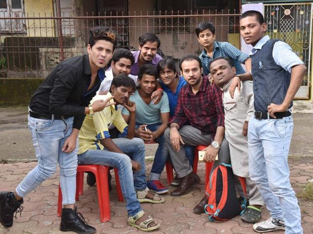 The group of boys behind 'Govandi CID'