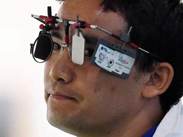 Jitu Rai finished eighth in the final of the 10m air pistol at Rio Olympics.