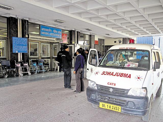 Delhi ambulance helpline