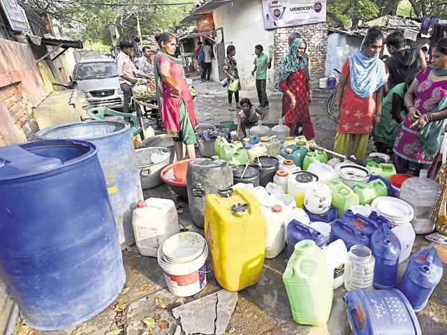 NCurrently, slum clusters and unauthorised colonies only get a common connection, not individual ones. Illegal tapping in the pipeline is common in many areas.
