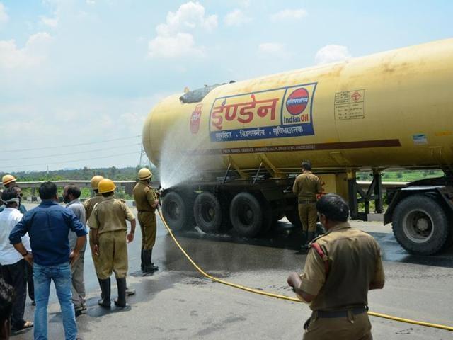 LPG tanker,IOC,NH2