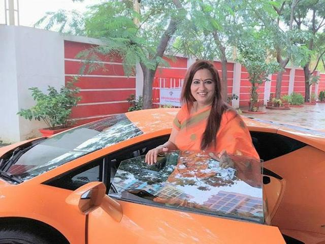 According to witnesses, Suman lost control of the car just few seconds after she started driving while trying to take a turn and rammed it into a stationary auto rickshaw.