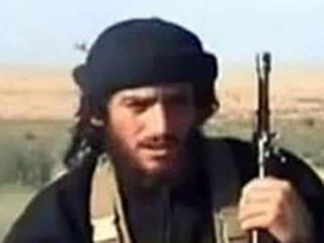 Amaq reported that Abu Muhammad al-Adnani (in picture) was killed while surveying the operations to repel the military campaigns against Aleppo.