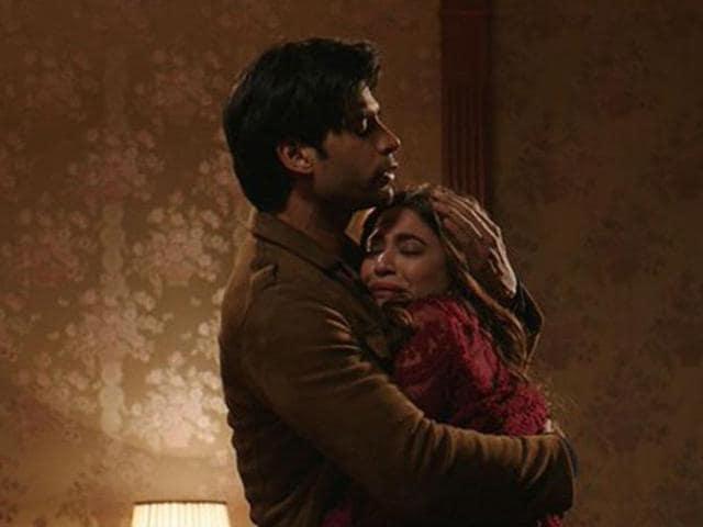 Gaurav Arora and Kirit in a  still from Raaz Reboot.