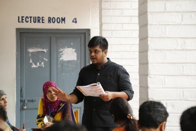 Mainak Roy recently started Taleem, a school-development programme in Kashmir.