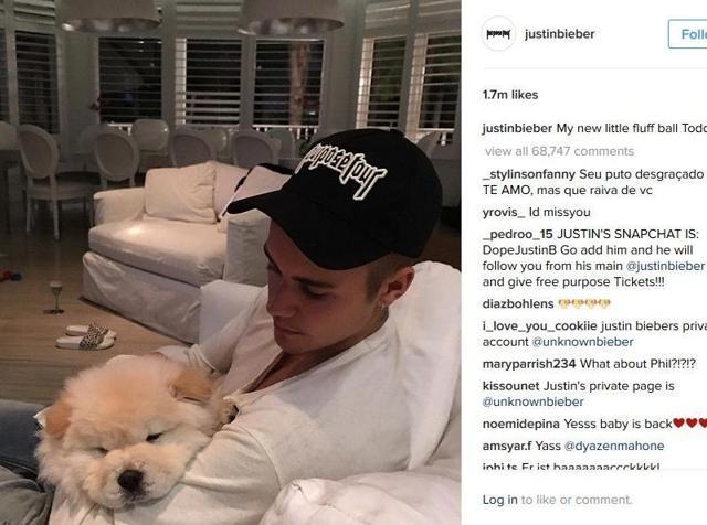 Justin Bieber,Instagram,Selena Gomez