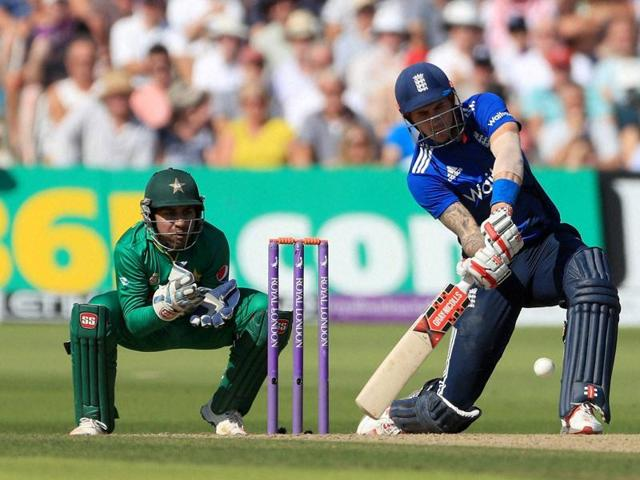 Alex Hales' 122-ball 171 set the foundation for England's massive total.