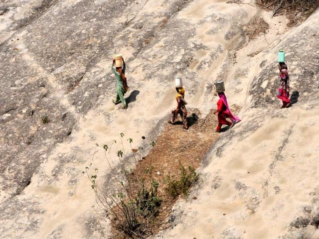 Women and girls across the world collectively spend about 200 million hours every day collecting water, Unicef said.