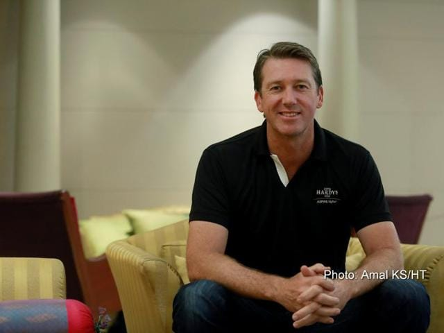 If there's a biopic made on Australian bowler Glenn Mcgrath, he would want Hugh Jackman or Akshay Kumar to portray him onscreen.