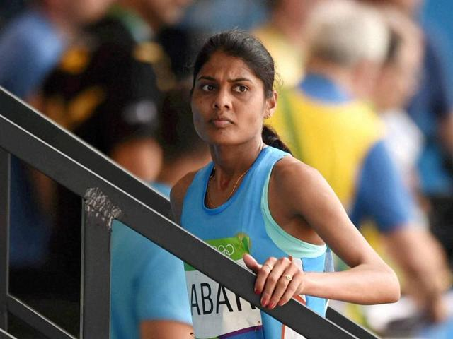 For Lalita Babar, the 3000m steeplechase final in Rio was her last race of the season.(PTI)