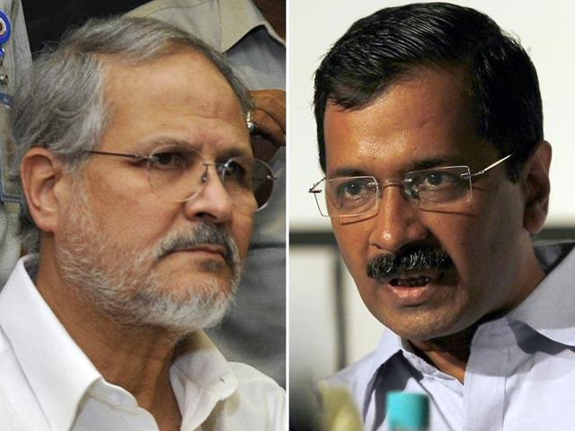 Delhi chief minister Arvind Kejriwal accused the Centre of meddling after L-G Najeeb Jung ordered the transfer of several senior officials.