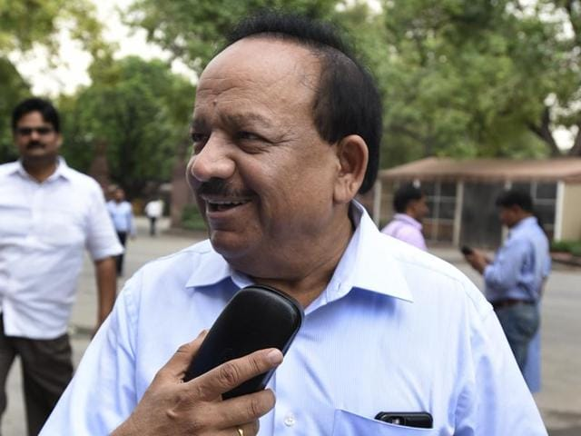 """Harsh Vardhan said AAP government's """"complete"""" focus is on attacking Prime Minister Narendra Modi."""